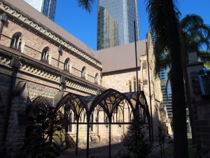 An der Brisbane Cathedral